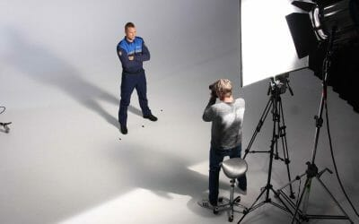 Fotoshoot G4S recruitment